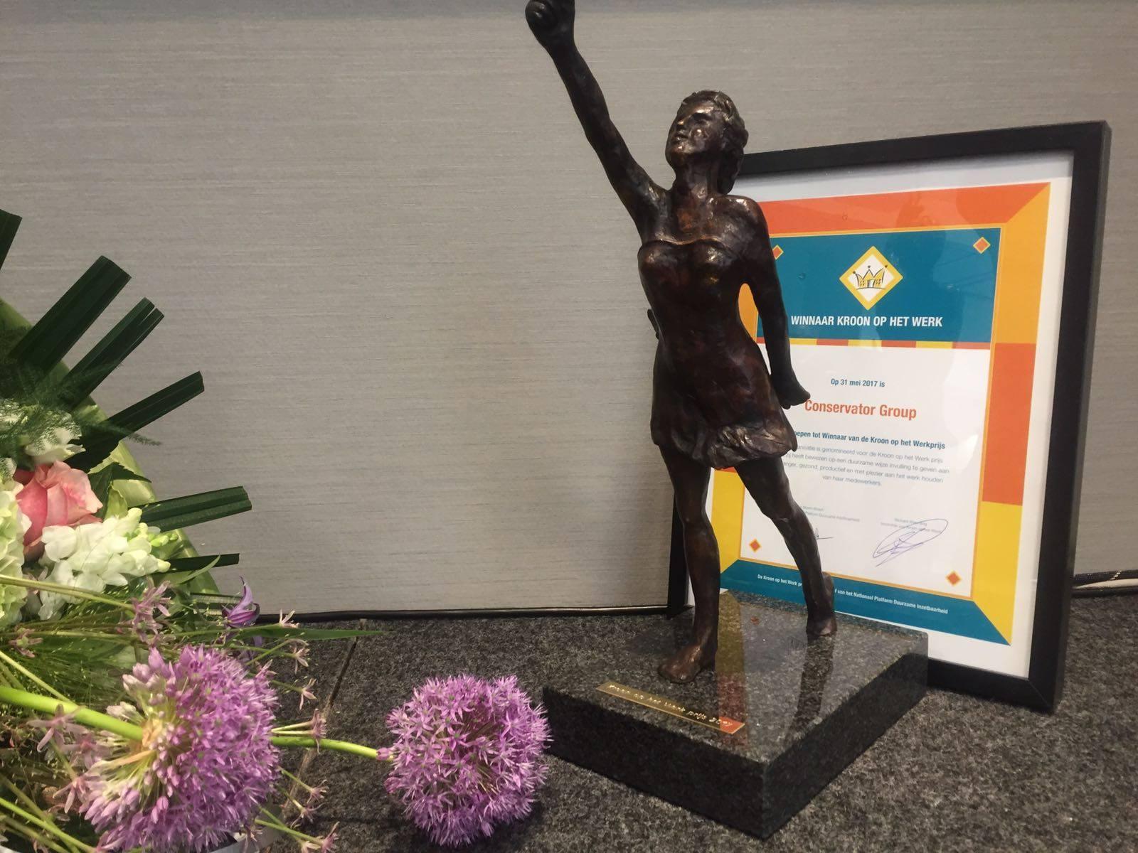 Conservator Group Wint Kroon Op Het Werk Prijs 2017